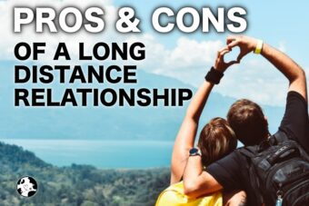pros of cons of a long distance relationship