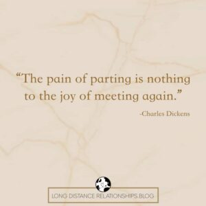 long distance couples quote